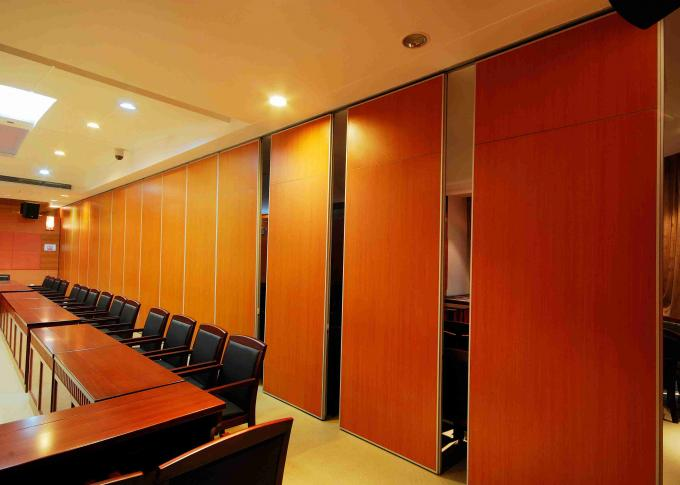 Veneer Finish Movable Partition Walls For Home Demountable Panel Faces