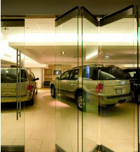 China Movable Frameless Glass Partition Wall For Bank,Airport and Cenvention Center distributor