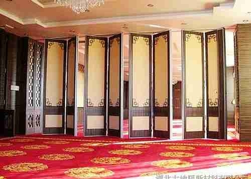 China Steel Track Room Partition Wall , Top Hung Sliding Room Partitions Durable factory